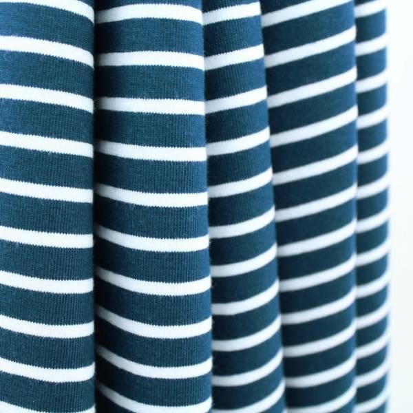 Bilde av Økologisk jersey, striper water by night
