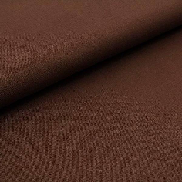 Bilde av Økologisk french terry, brun
