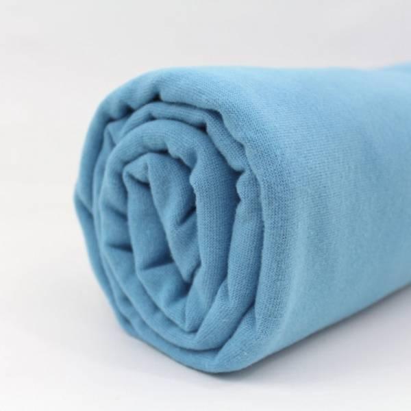 Bilde av Økologisk ribb, lys blå