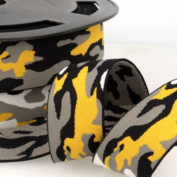 Bilde av Boxerstrikk, 3,8cm army gul